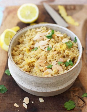 Lemon Zest Quinoa 2