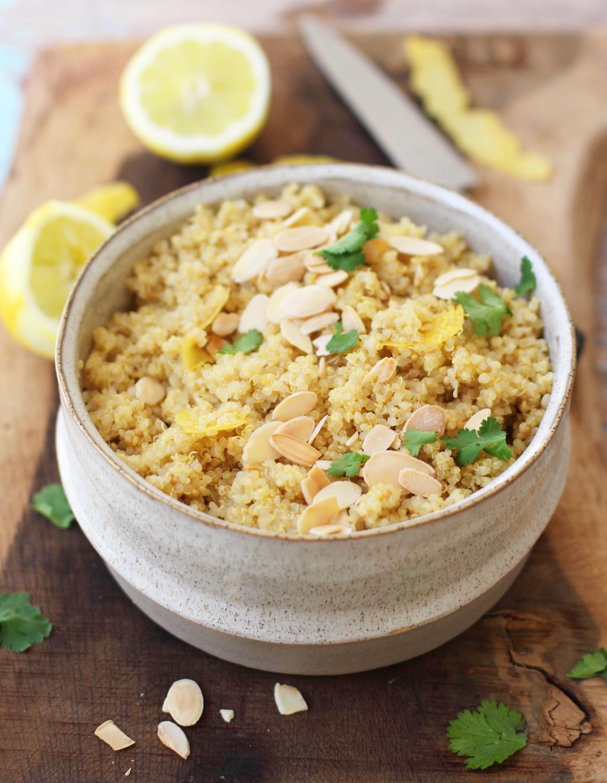 Lemon Zest Quinoa 2