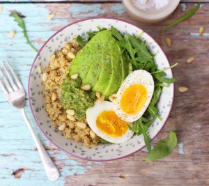 Pesto Breakfast Bowl 4
