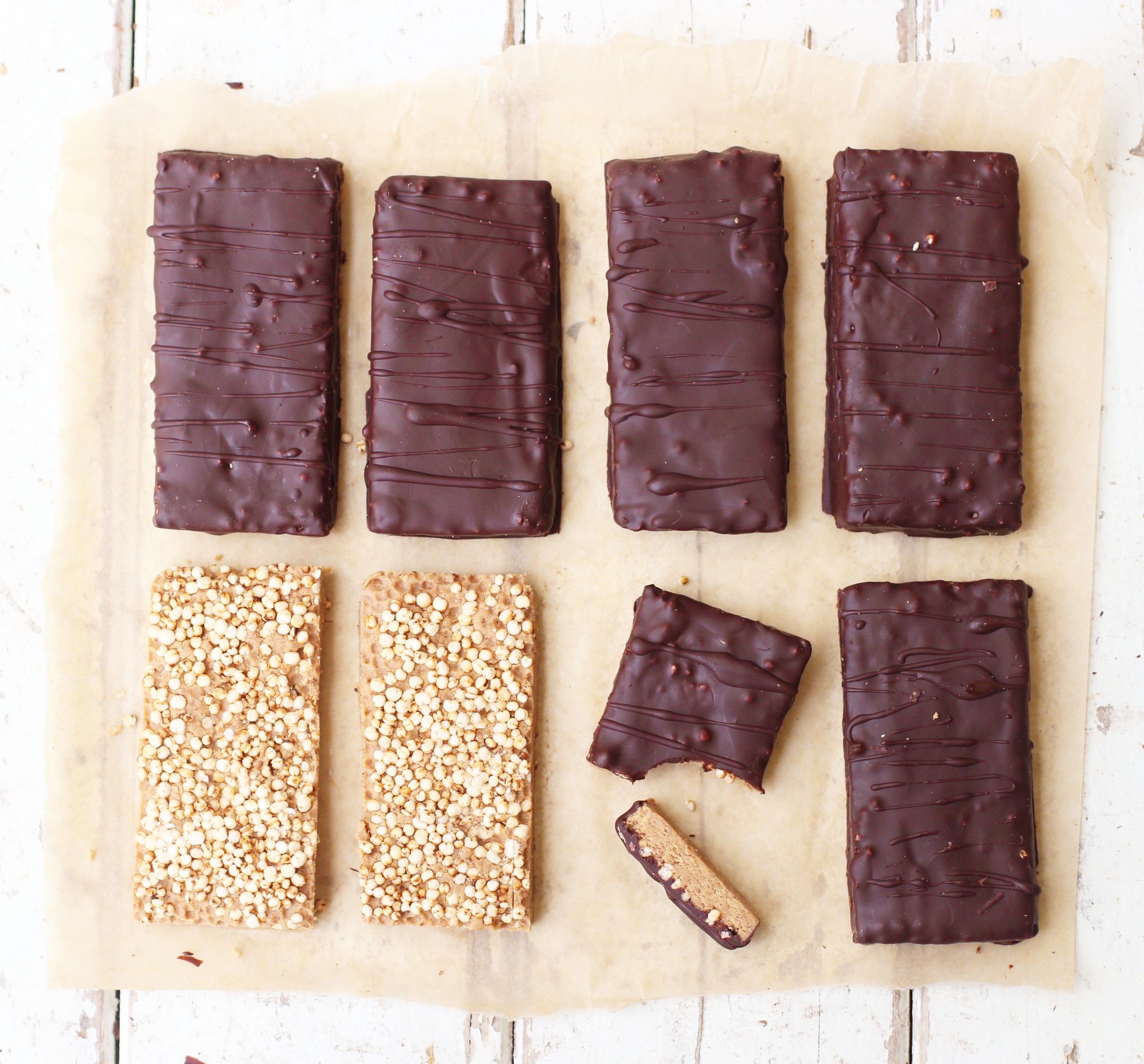 Vanilla Crunch Protein Bars 1
