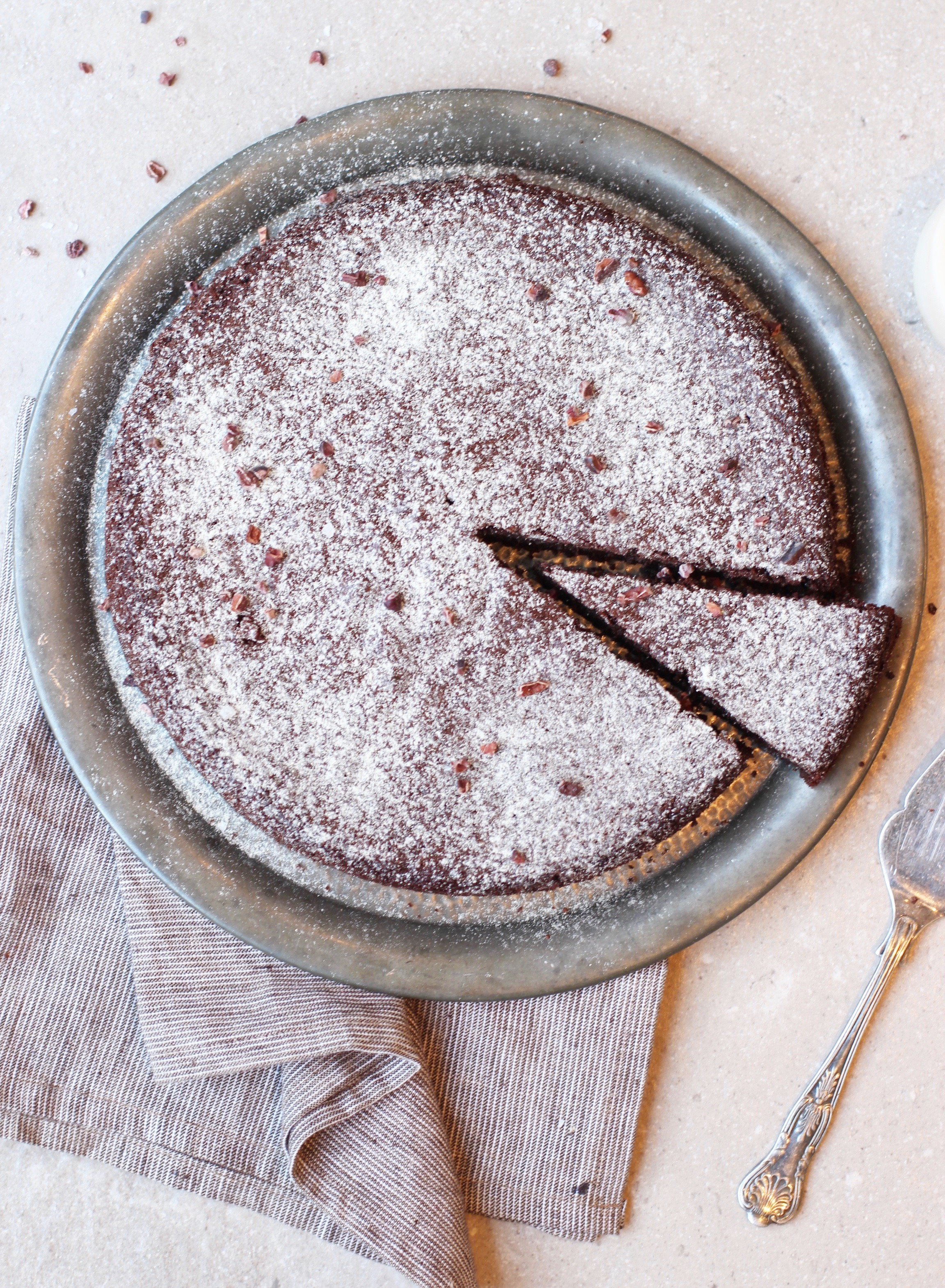 Chocolate Olive Oil Cake 4