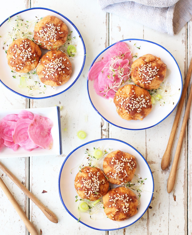 Sticky Asian Salmon Cakes 2