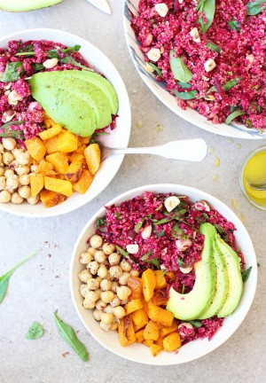 Beetroot & Hazelnut Quinoa 4