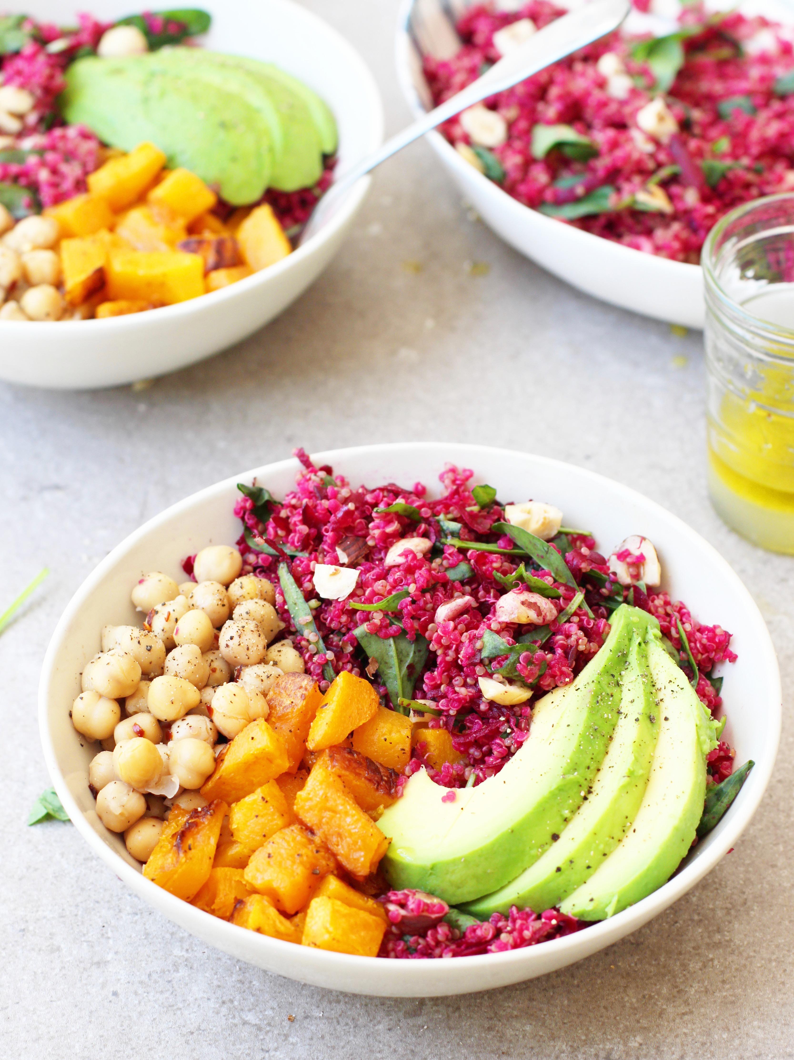 Beetroot & Hazelnut Quinoa 7